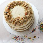 Vegan Momofuku Milk Bar Birthday Cake