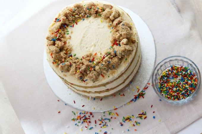Vegan Momofuku Milk Bar Birthday Cake