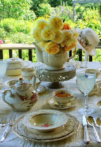 Tea & Coffee  - The Proper Etiquette (1/6)