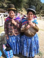Bolivian Cholita