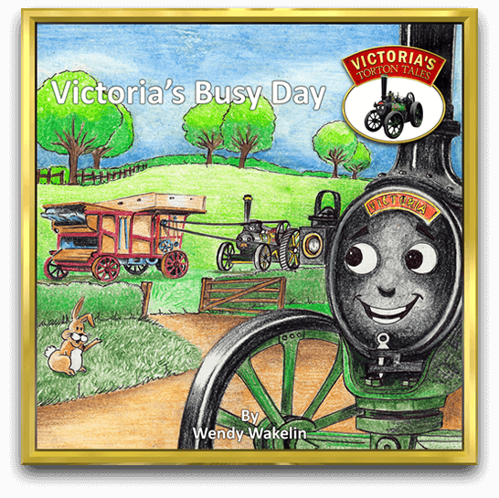 Cover of Victoria Busy Day, children's story book