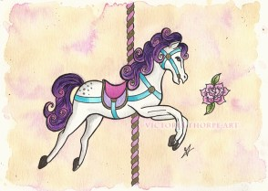 carousel horse 72