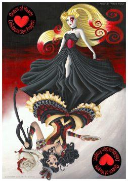 The Queen of Hearts Collaboration with Lauren C. Waterworth Facebook.com/LaurenCWaterworth