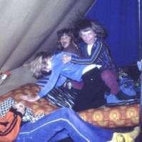 Stoeien in de tent