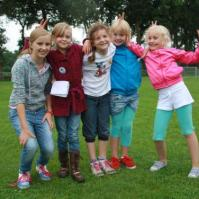 Rode draad groepje met Roos, Maria, Lara, Jessie en Benthe