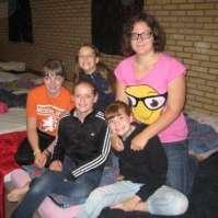 Linsey, Jadie, Robin, Lieke en Isabel