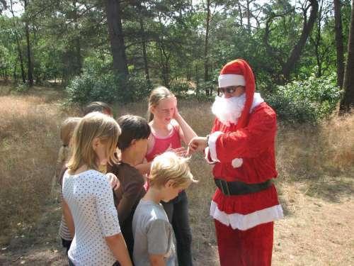 Job als kerstman