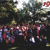 De groepsfoto van het Victorie Zomerkamp 1997