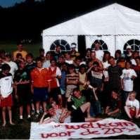 Groepsfoto Victorie Zomerkamp 1999