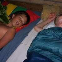 Brandon en Thomas