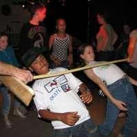 Limbo dansen met Sheldon en Gaia