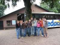 Een deel van de leiding van het kamp 2007