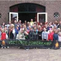 Groepsfoto Victorie Zomerkamp 2009