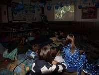 Film kijken op de regenachtige vrijdagochtend