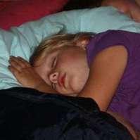 Jessie lukt het niet om wakker te blijven