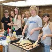 Het hamburgerbakteam