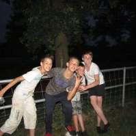 Kelvin, Nathan en Ryan verstoren de rust