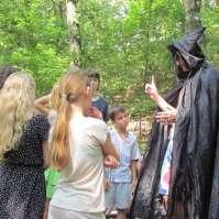 Ook Jafar liep rond in het bos