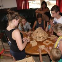 Roversspelen: paleis bouwen