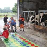 Twister in de koeienstal