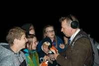 Onze eigen reporter voor RTL nieuws liep ook rond in het bos