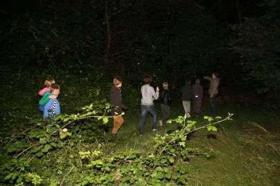 Een spannend escape-spel in het bos