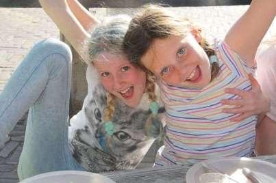 Hannah en Tessa