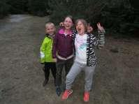 Een avondbosspel voor de jongere kinderen