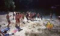 Zwemmen in het vennetje