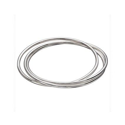 STERLING SILVER TRIPLE BANGLE