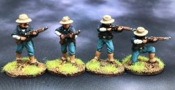 Allied infantry