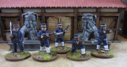 28mm Colonial Infantry