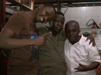 My boys and I at Tavern@Kenol weekly party