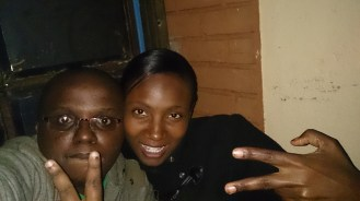 selfie moments with my bff, Carol Mbuthia