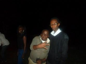 Sam and I during the Rotaract Club of Embu's Bush Party-Season 3