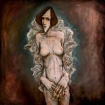 desnudo con manta otero carbonell