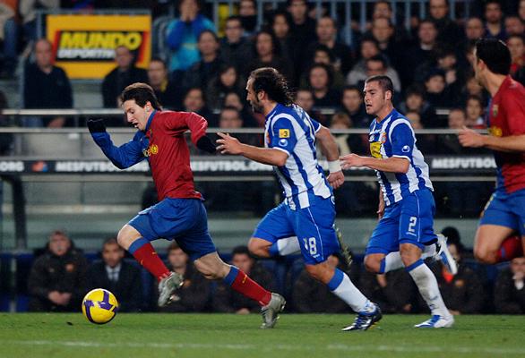 Futbol Club Barcelona - Real Club Deportivo Espanyol - Liga 1» D