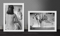 Painting Frames Free PSD