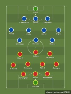 How France and Belgium could line up in Nations League semi-final