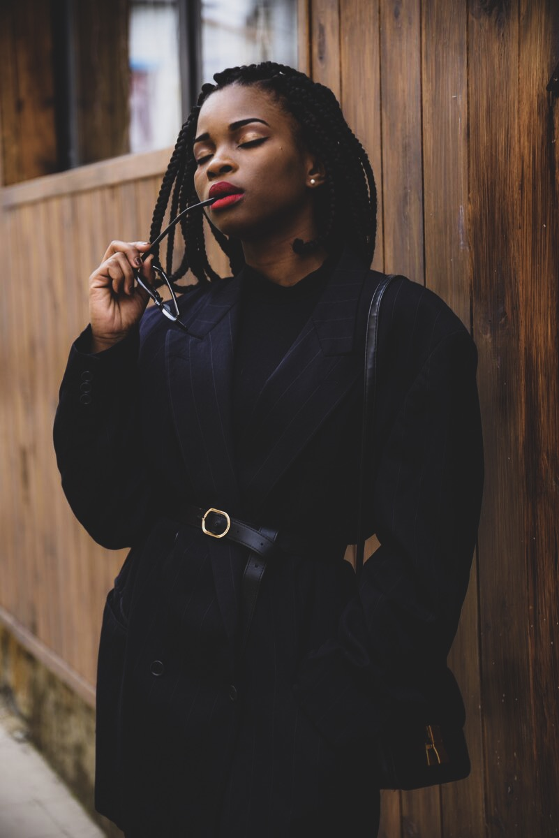 African fashion blogger