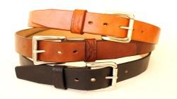handmade oak bark belts