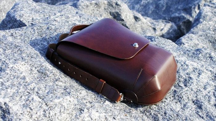 bespoke leather bag