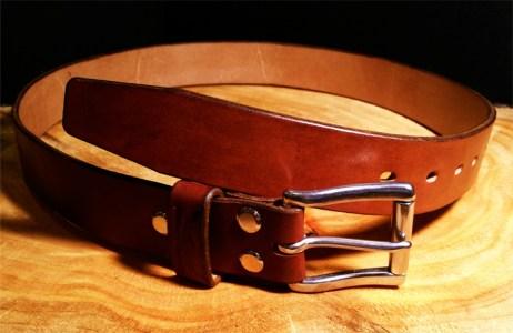 English leather belts