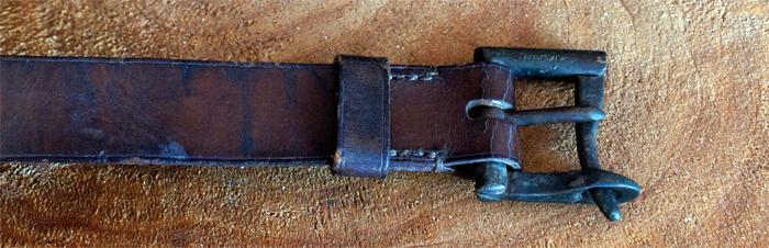 firefighter belt buckle fleamarket find