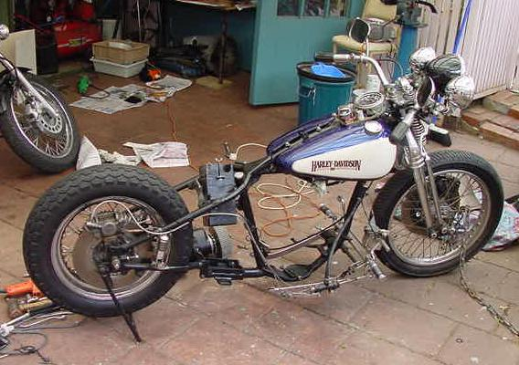 Bsa M21 Transmission In 45 Solo Frame By Enigmas