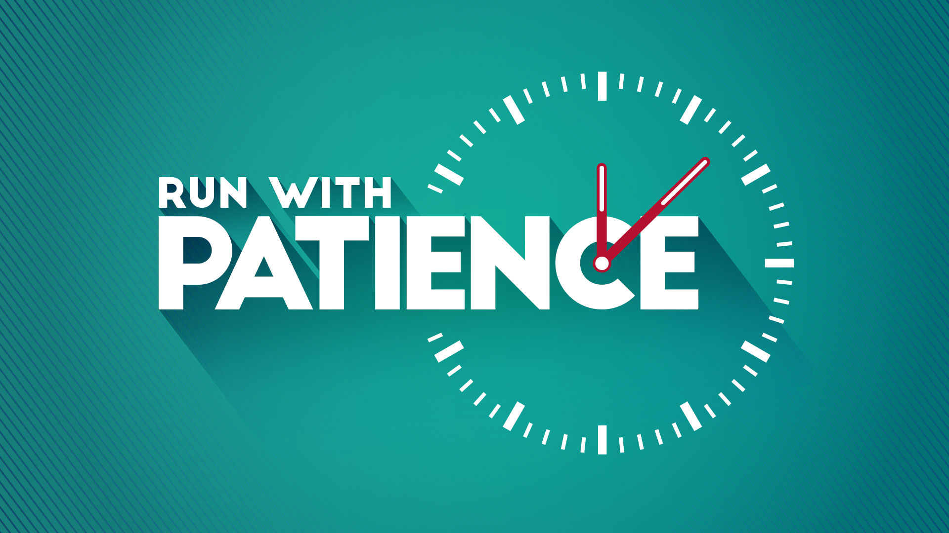 Image result for TO RUN WITH PATIENCE