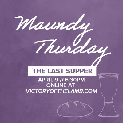 love, maundy thursday