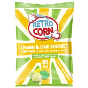 Bag of lemon lime sherbet popcorn