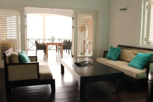 Apartment - Living Room - Scuba Lodge Curacao
