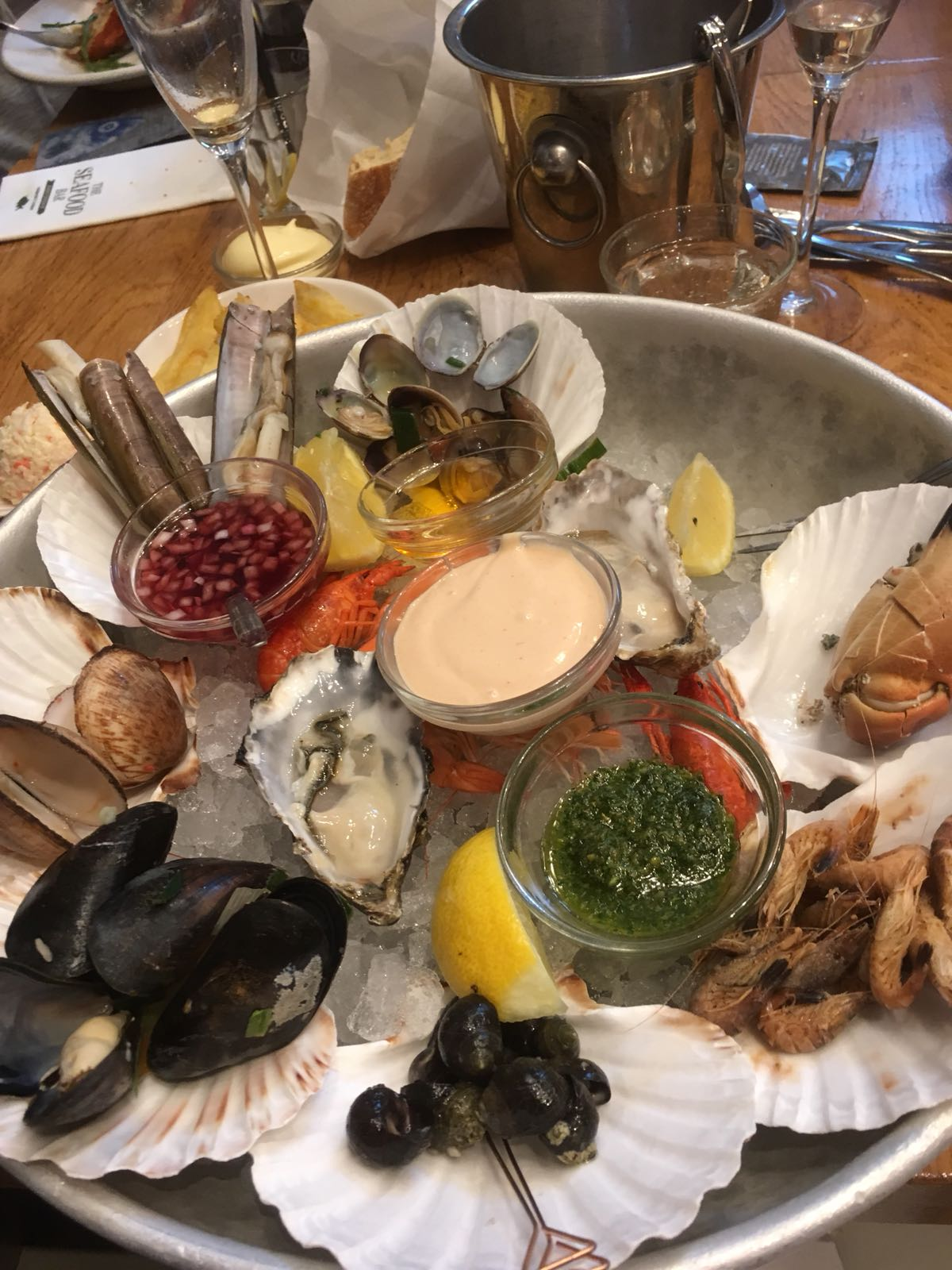 The Seafood Bar in Amsterdam